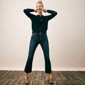 J.Crew Billie Demi Boot Crop Jeans Size 32